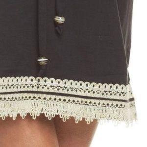 6521d48037910 Mud Pie Swim - Mud Pie Marcia Black Swimsuit Cover-up
